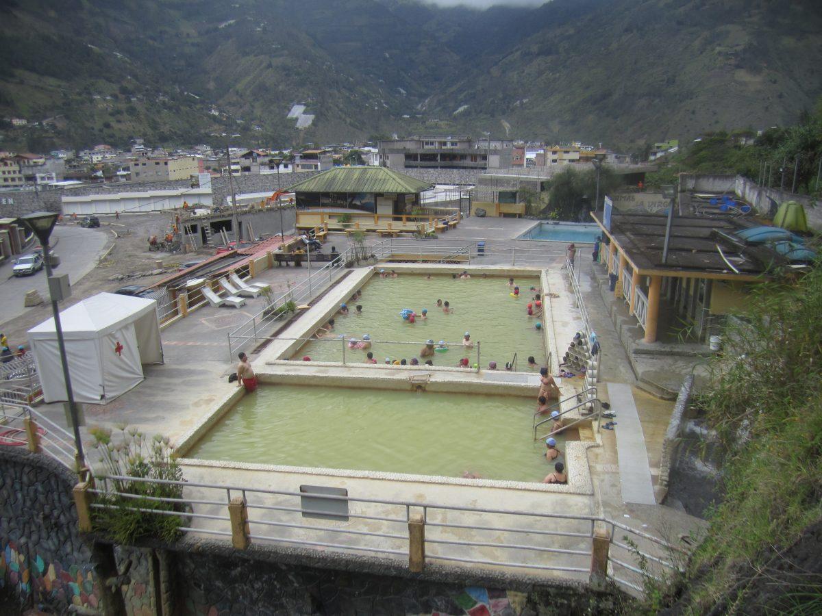 Banos, Ecuador – thermal baths – hot springs