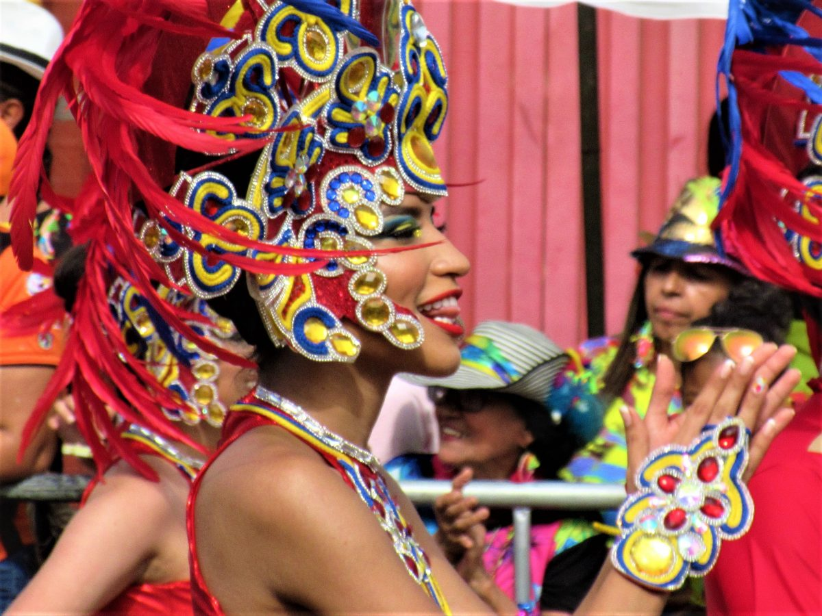 Barranquilla throws  the second largest Carnival Party in the World